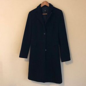 Zara wool black trench coat